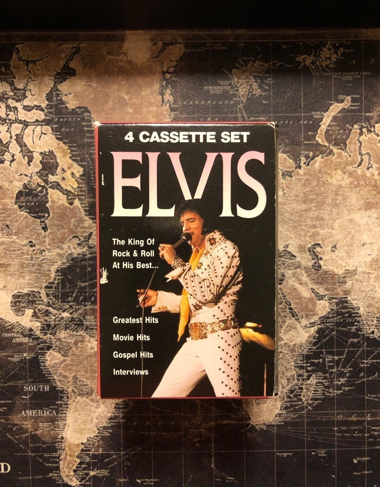 Elvis cassette Collectors Edition Bundle