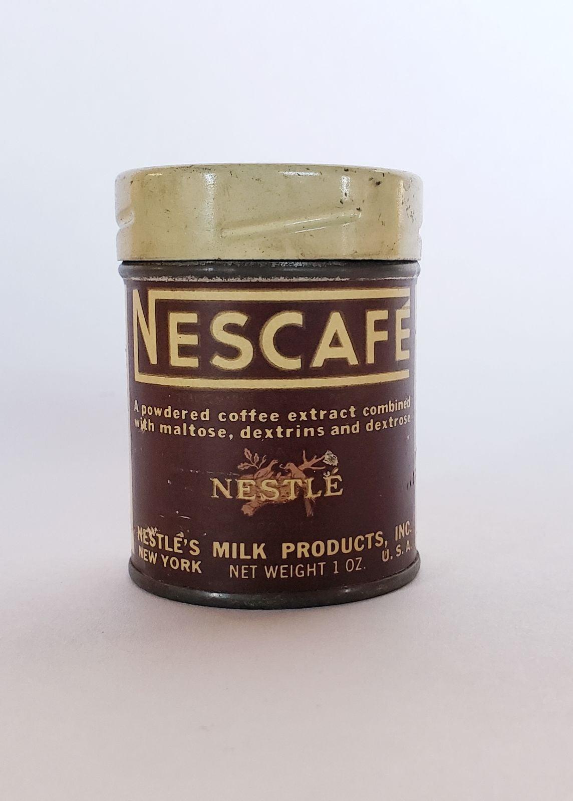 Vintage NESCAFE Coffee Sample 1 oz Tin