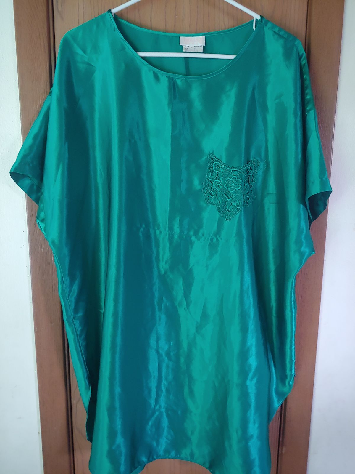 1X Green Adonna Nightgown