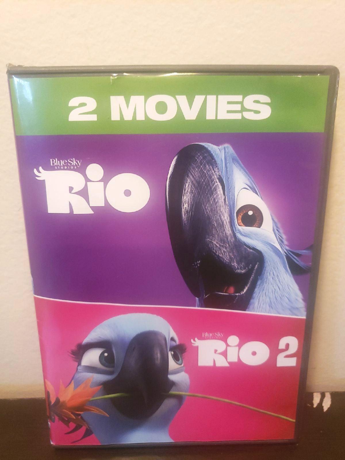 Blue Sky Studios Rio DVD