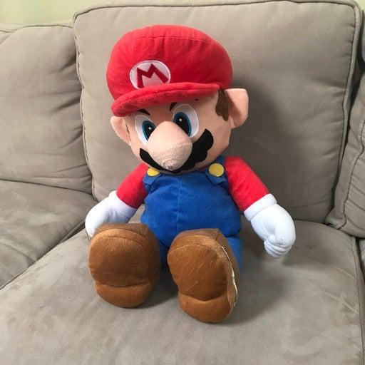 Big Mario Plush