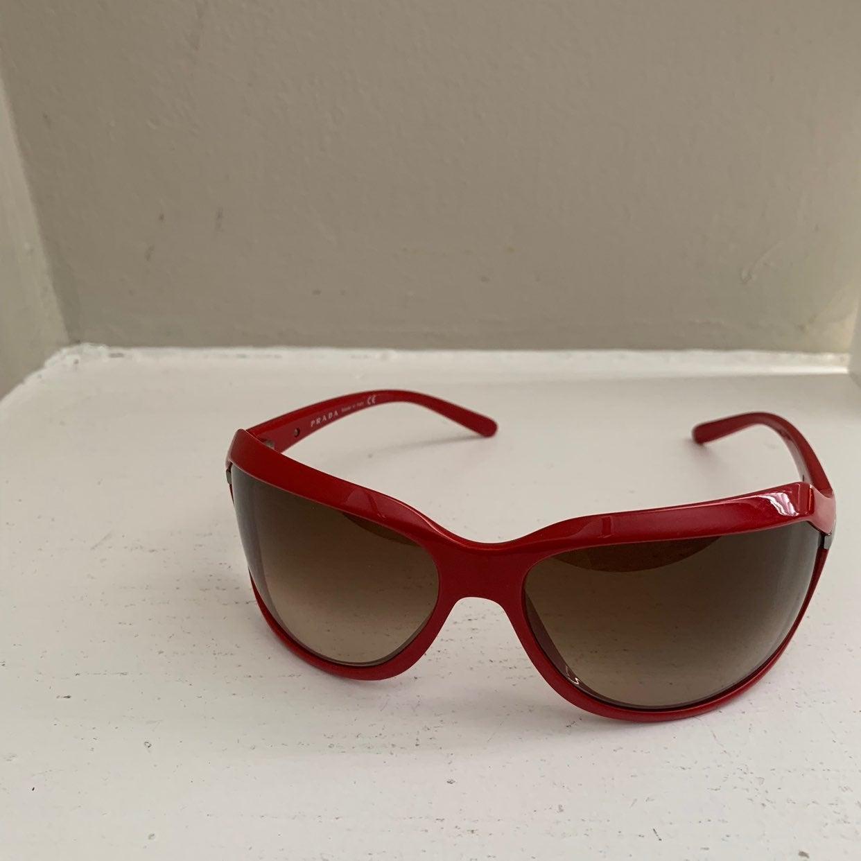 Prada SPR 14G 72 16 OBU-6S1 Sunglasses