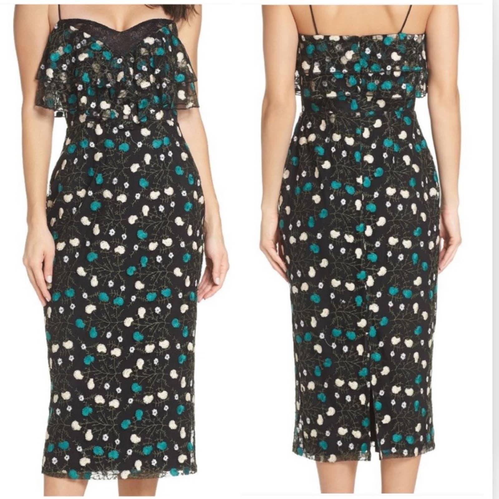 Cooper St Popover Frilled Sheath Dress 6