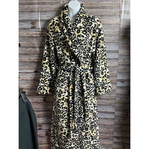 Covington leopard print Robe