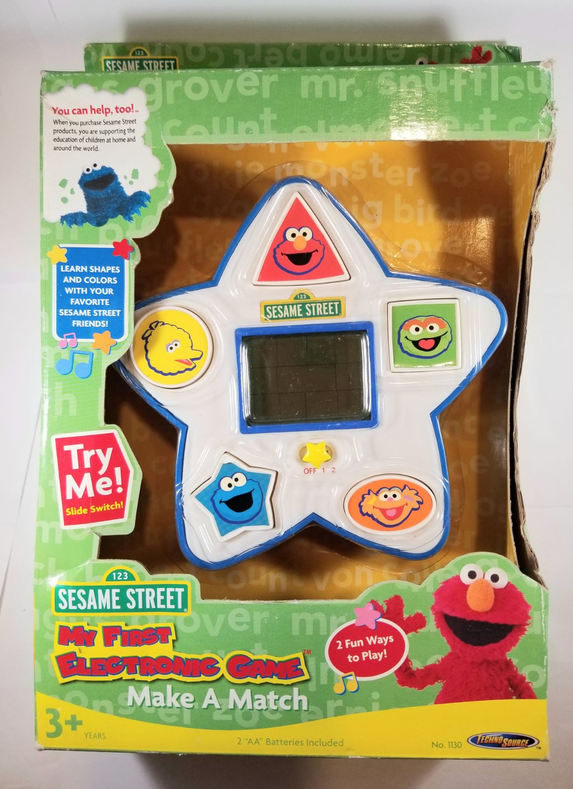 SESAME STREET My First Electronic Game