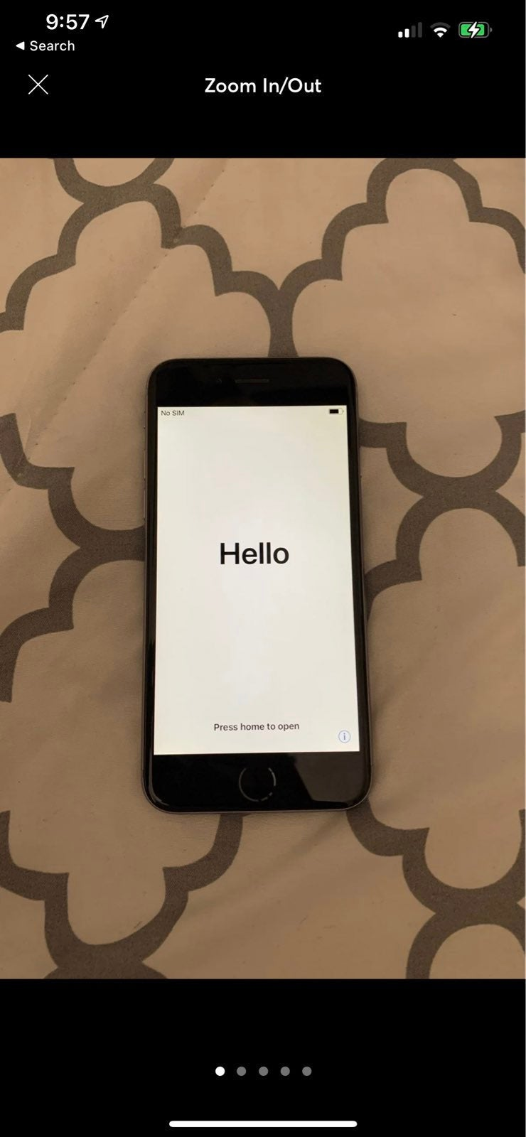 iPhone 6 Space Gray 16 gig Unlocked