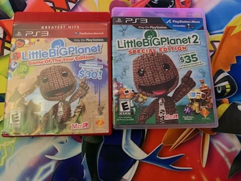 Little big planet 1 and 2-tested amd wor