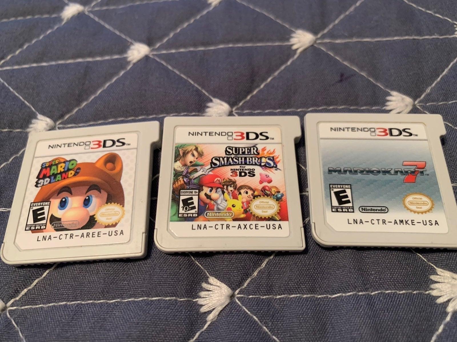 Super Mario 3DS Game Bundle