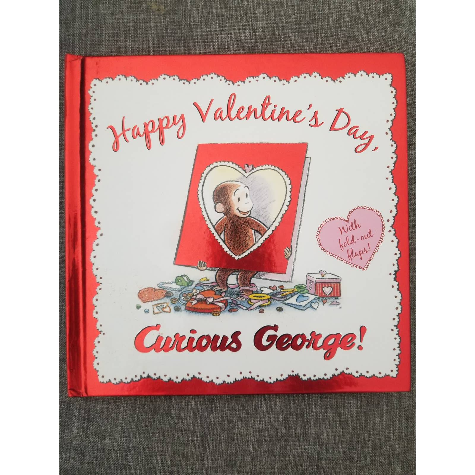 Curious George Valentines Book