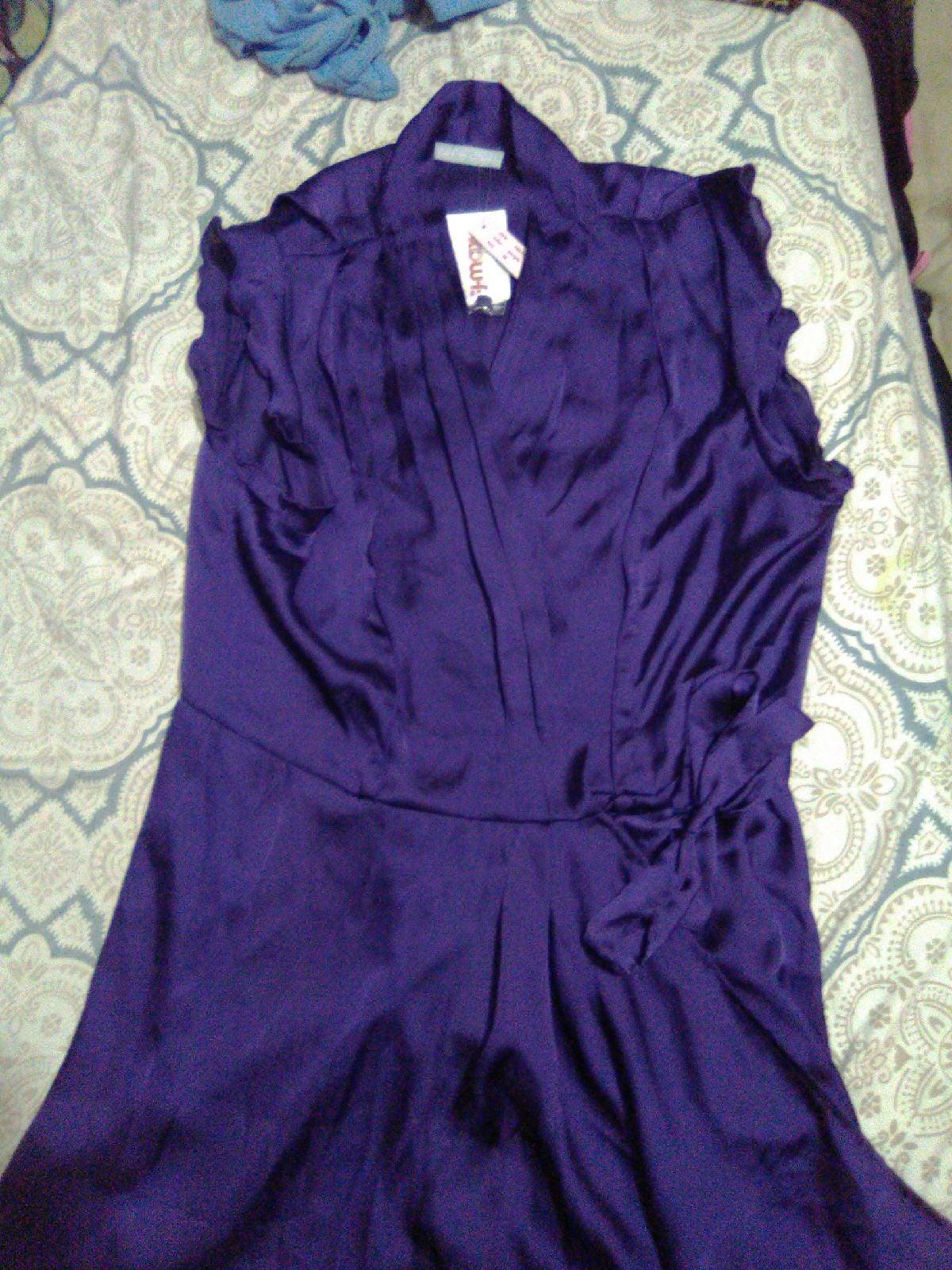 Womens purple blouse