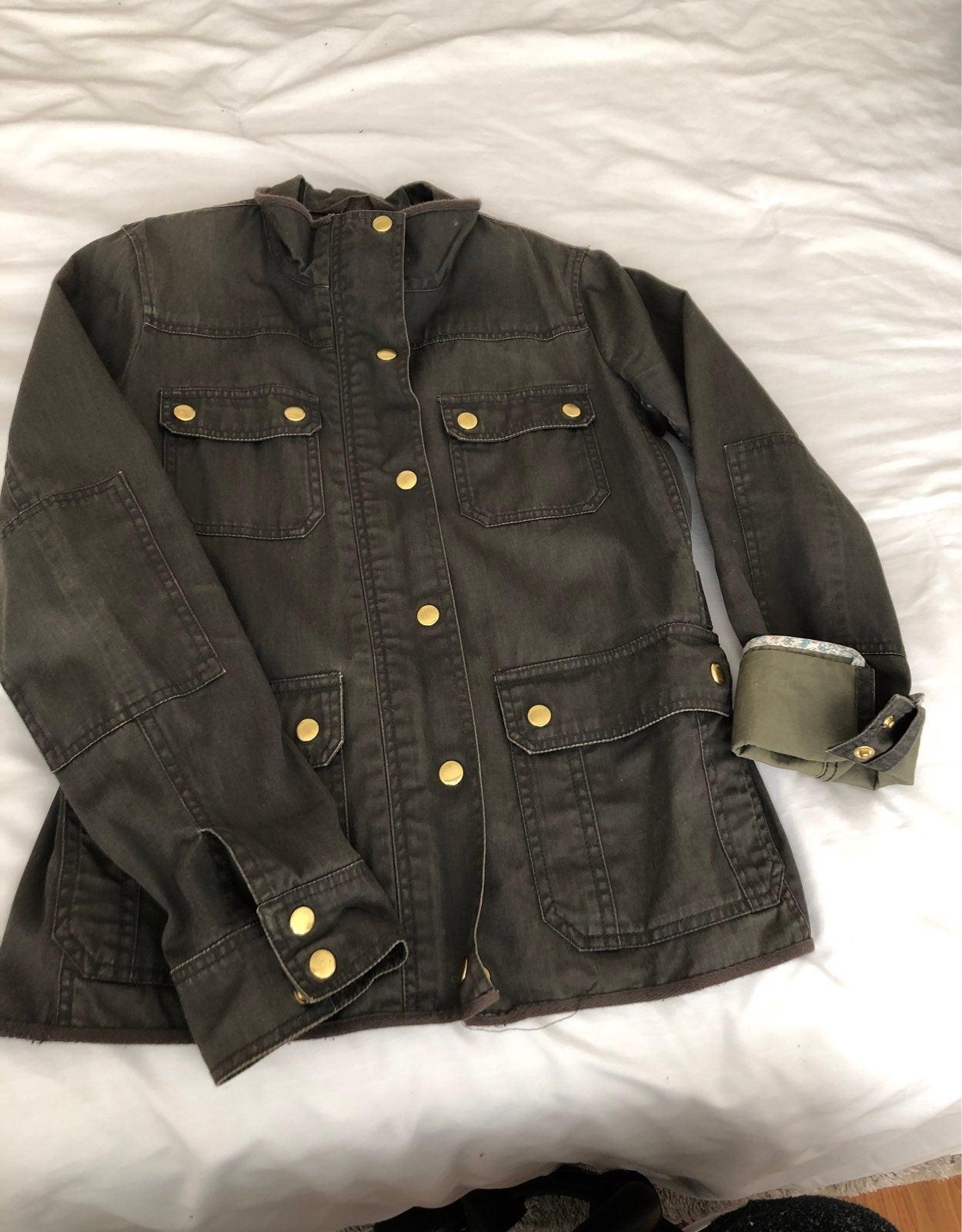 J Crew Boyfriend Field Jacket