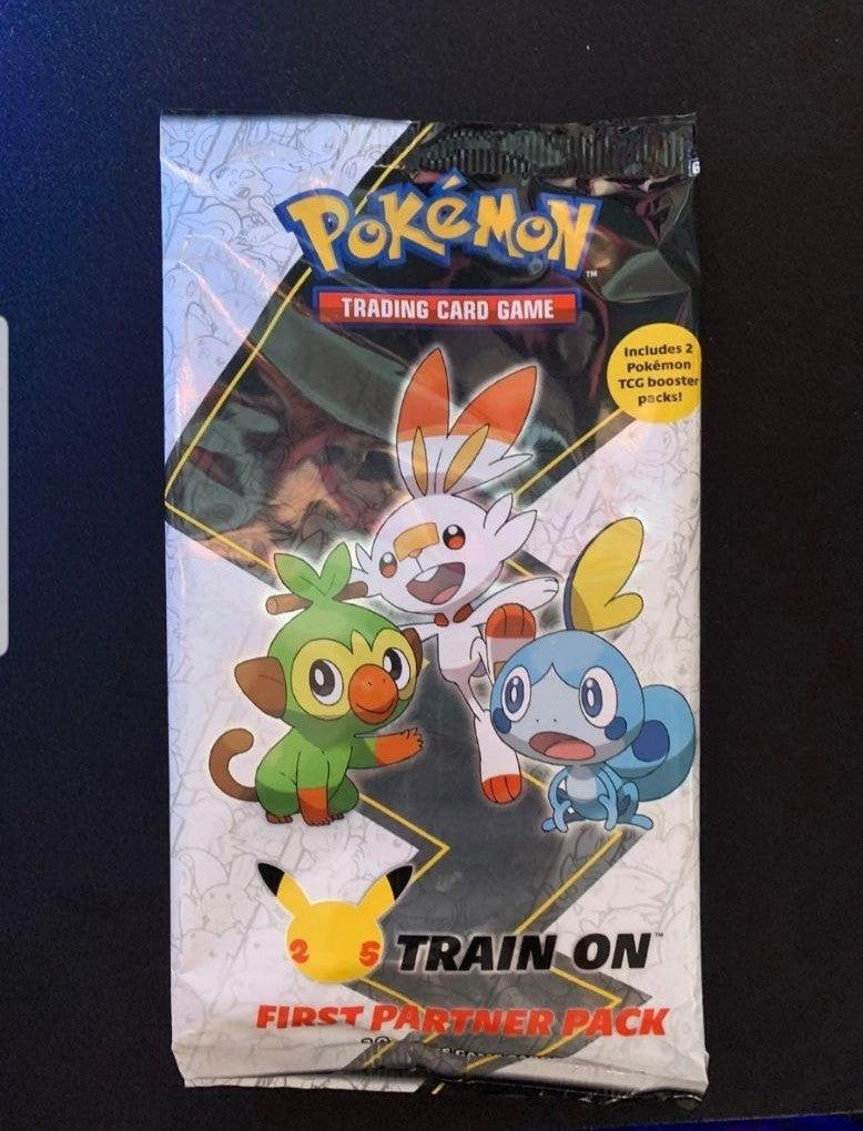 Pokemon First Partner pack