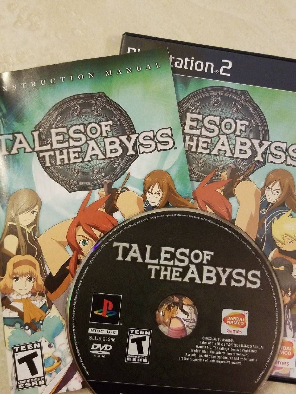 Tales of the Abyss on Playstation 2