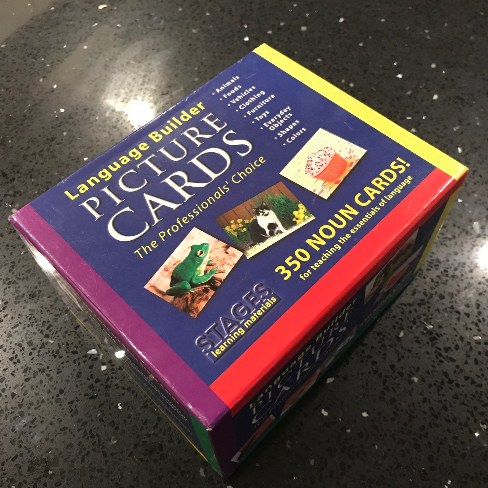 Stages Language Builder Picture Cards