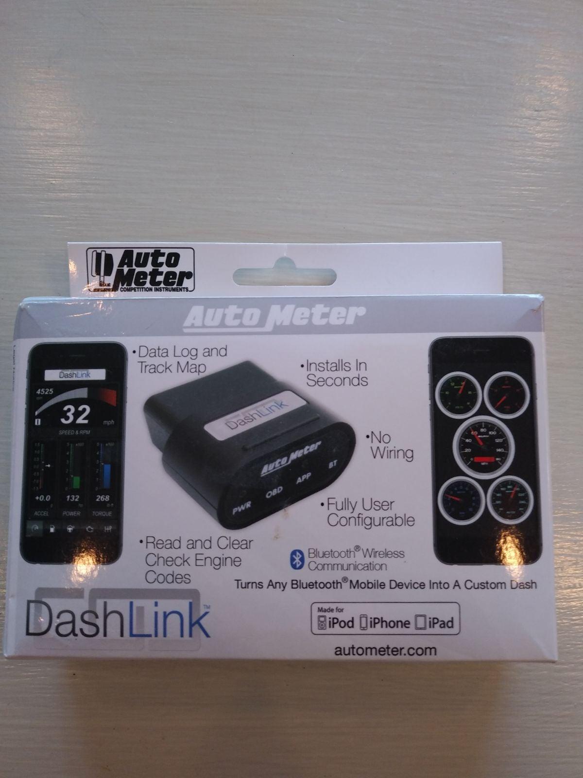 Auto Meter Dash Link