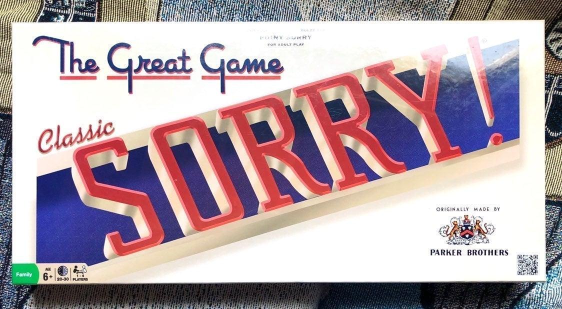 Sorry! Classic Board Game NWT