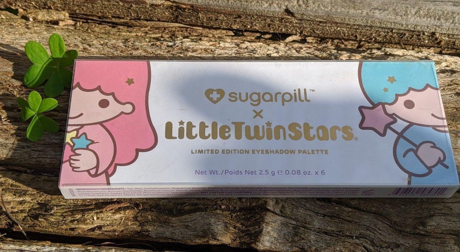 Sugarpill x LittleTwinStars LE eyeshadow