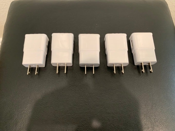 Lot 5 Samsung OEM Galaxy Chargers