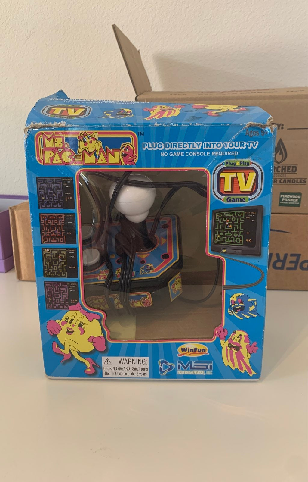 Ms. Pac-Man plug & play tv game
