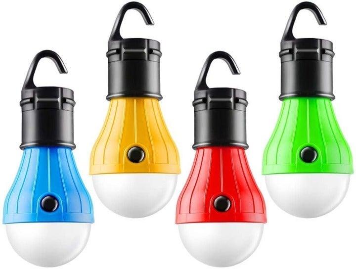 Tent Lamp Portable LED Tent Light 4 Pack