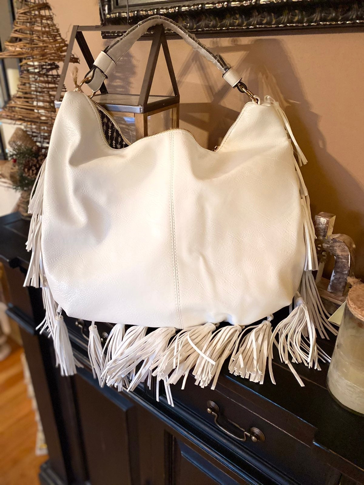 Antik Kraft fringe bag