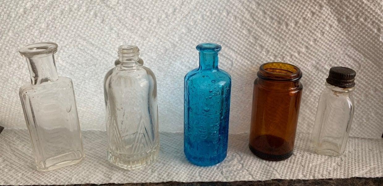 Miniature bottles (5)