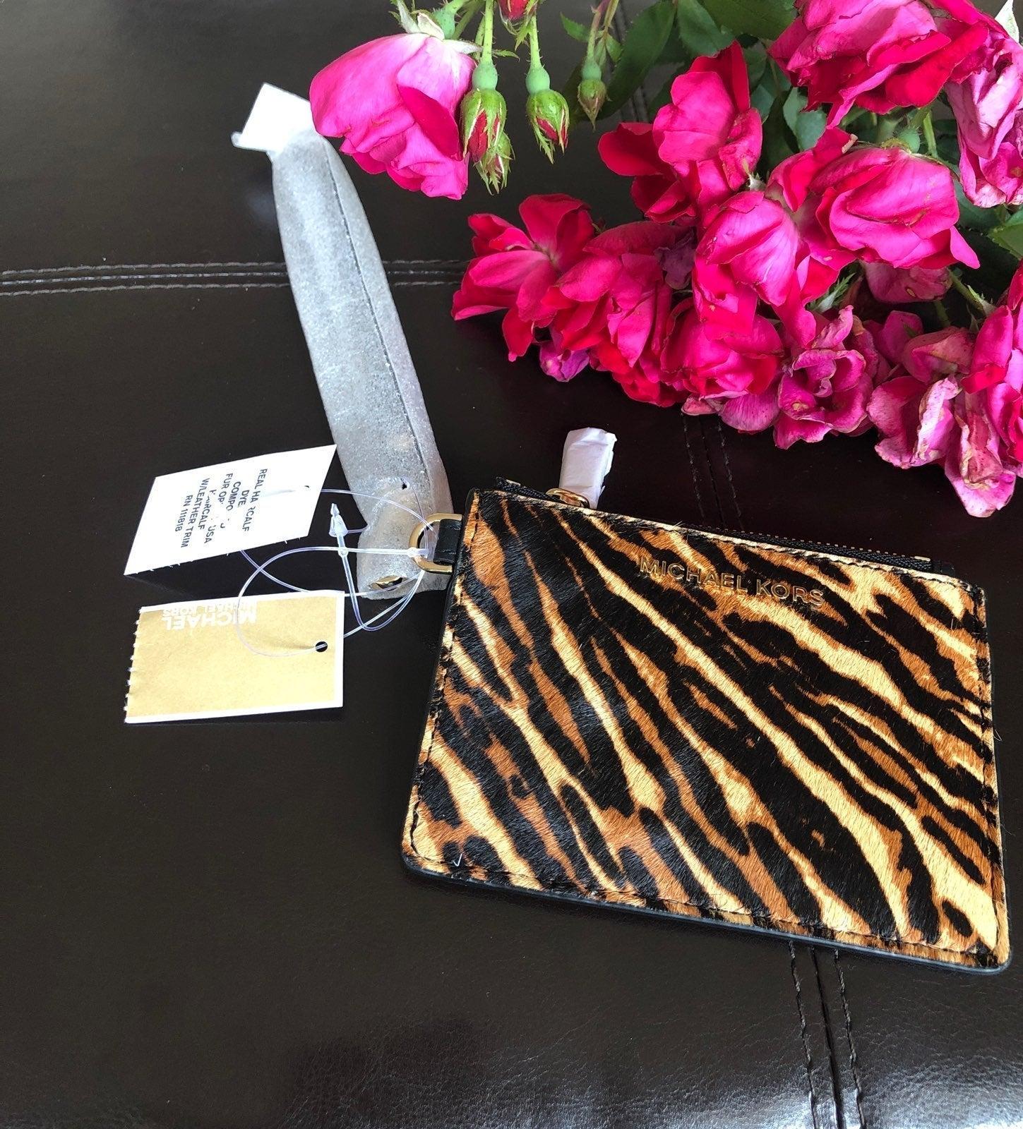 Michael Kors jet set small coin purse