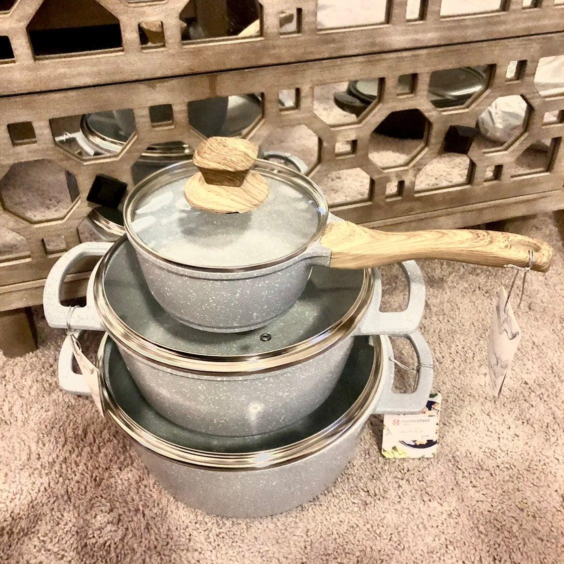 6 Piece Masterclass Premium Cookware