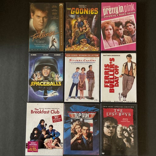 The Ultimate 80's 9 DVD collection
