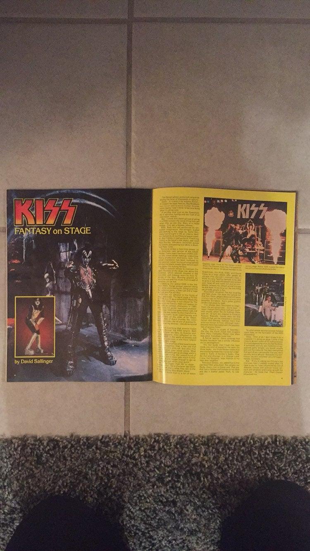 Questar Magazine 1979 Star Trek and Kiss