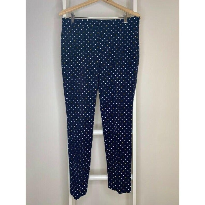Women's 8 Talbots Chatham Ankle Pants Bl