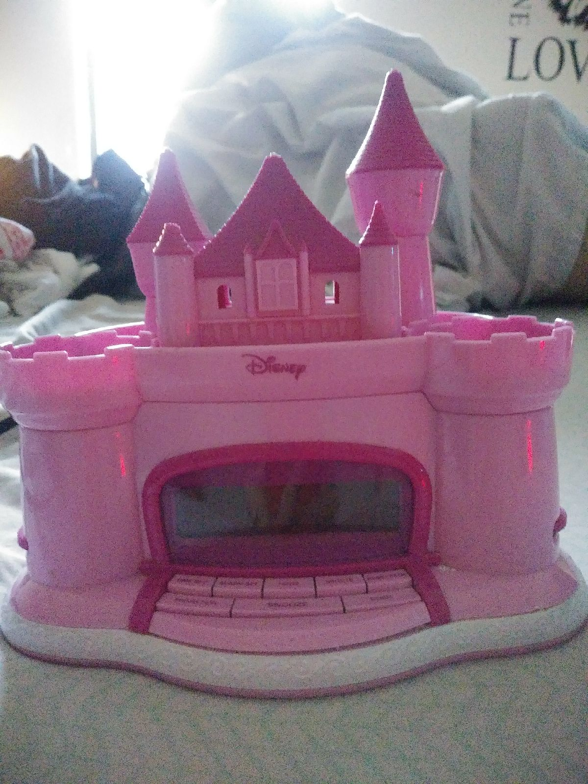 Disney Princess projector alarm clock ra