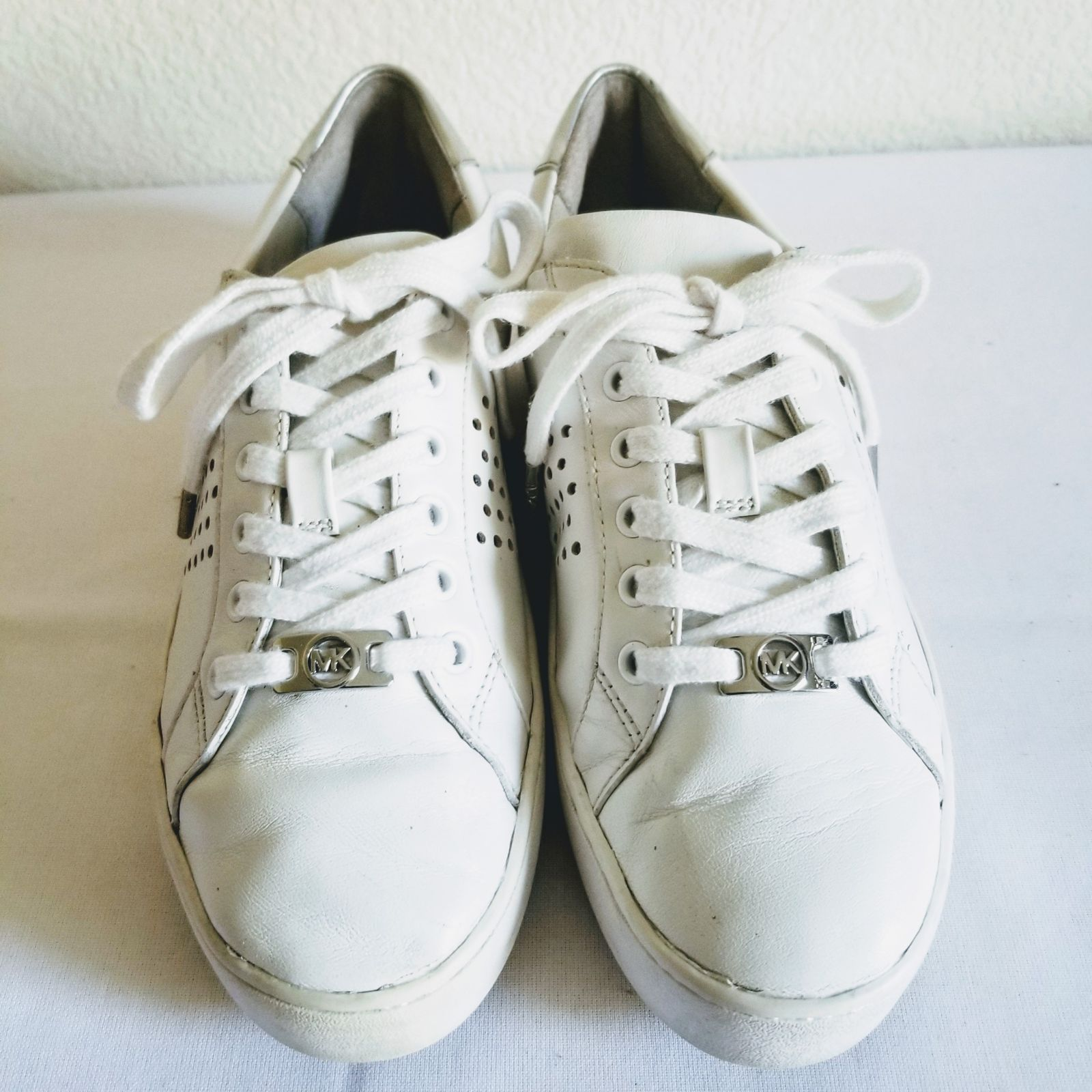 Michael Kors Irving Leather Sneakers 7.5