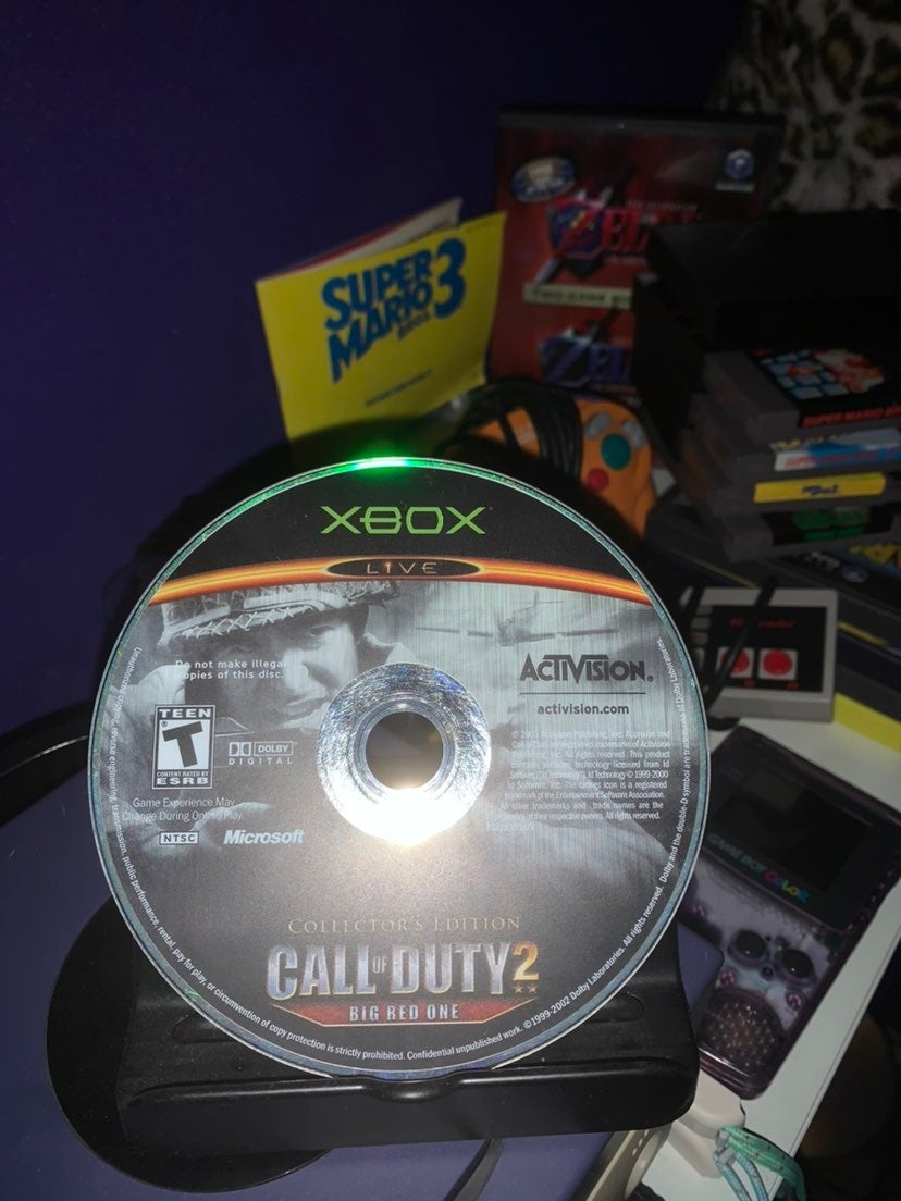 Call of Duty 2: Big Red One on Xbox