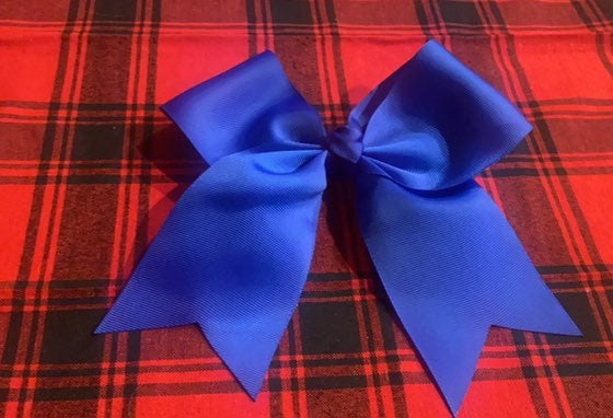 Simply Southern Cheer Bow - Blue