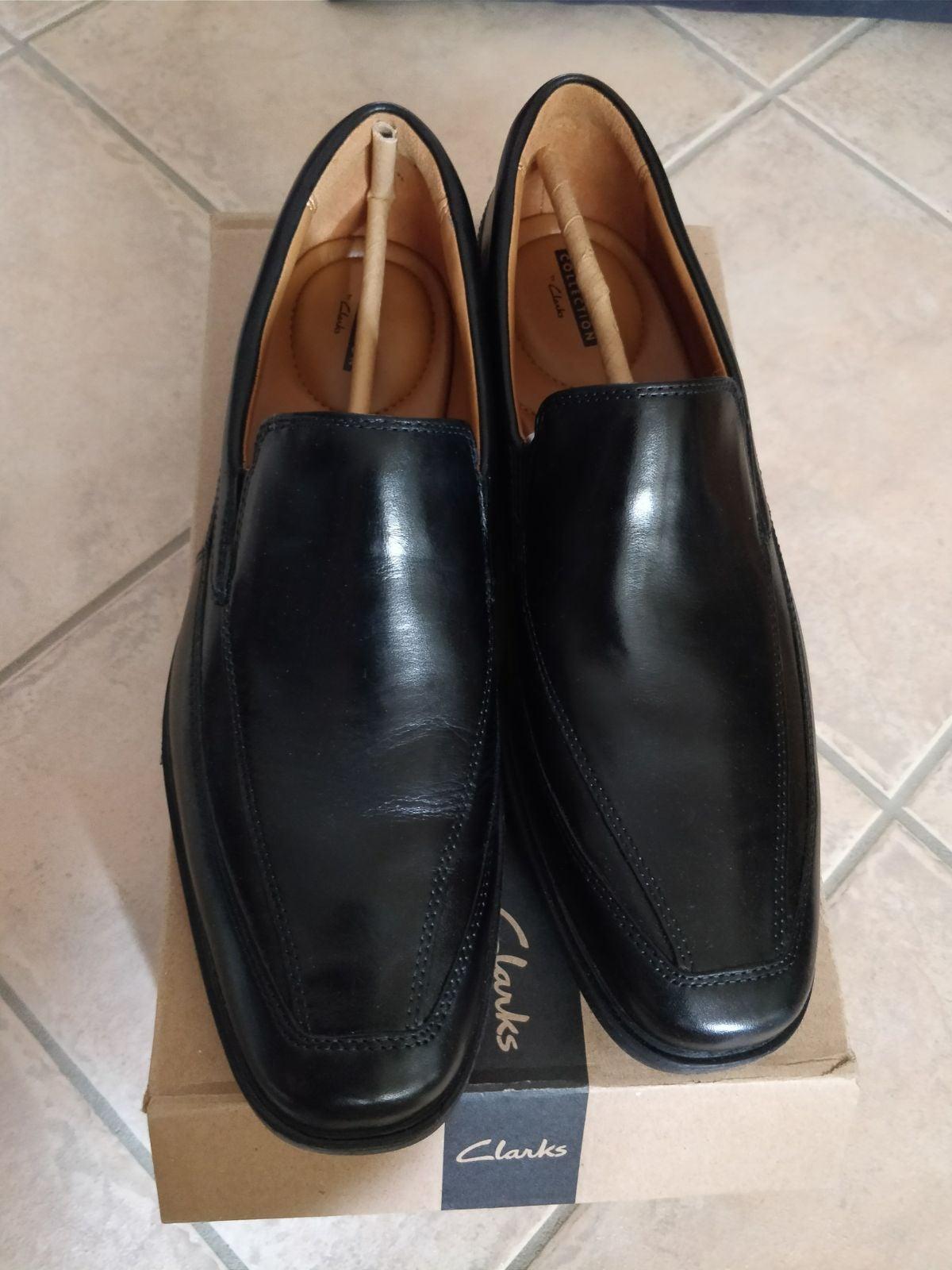 New clarks men's dress shoes