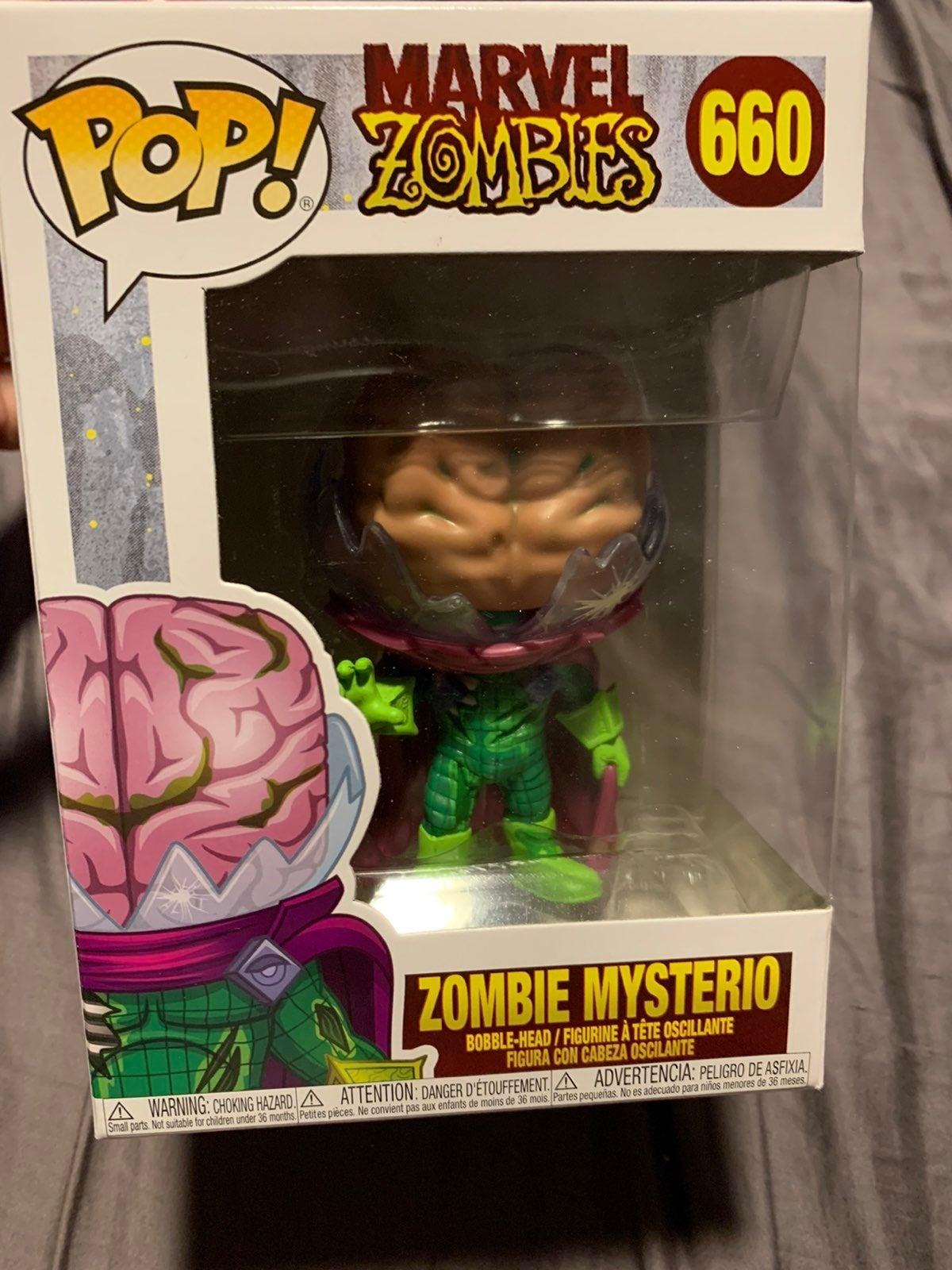 Marvel Zombie Mysterio Funko Pop
