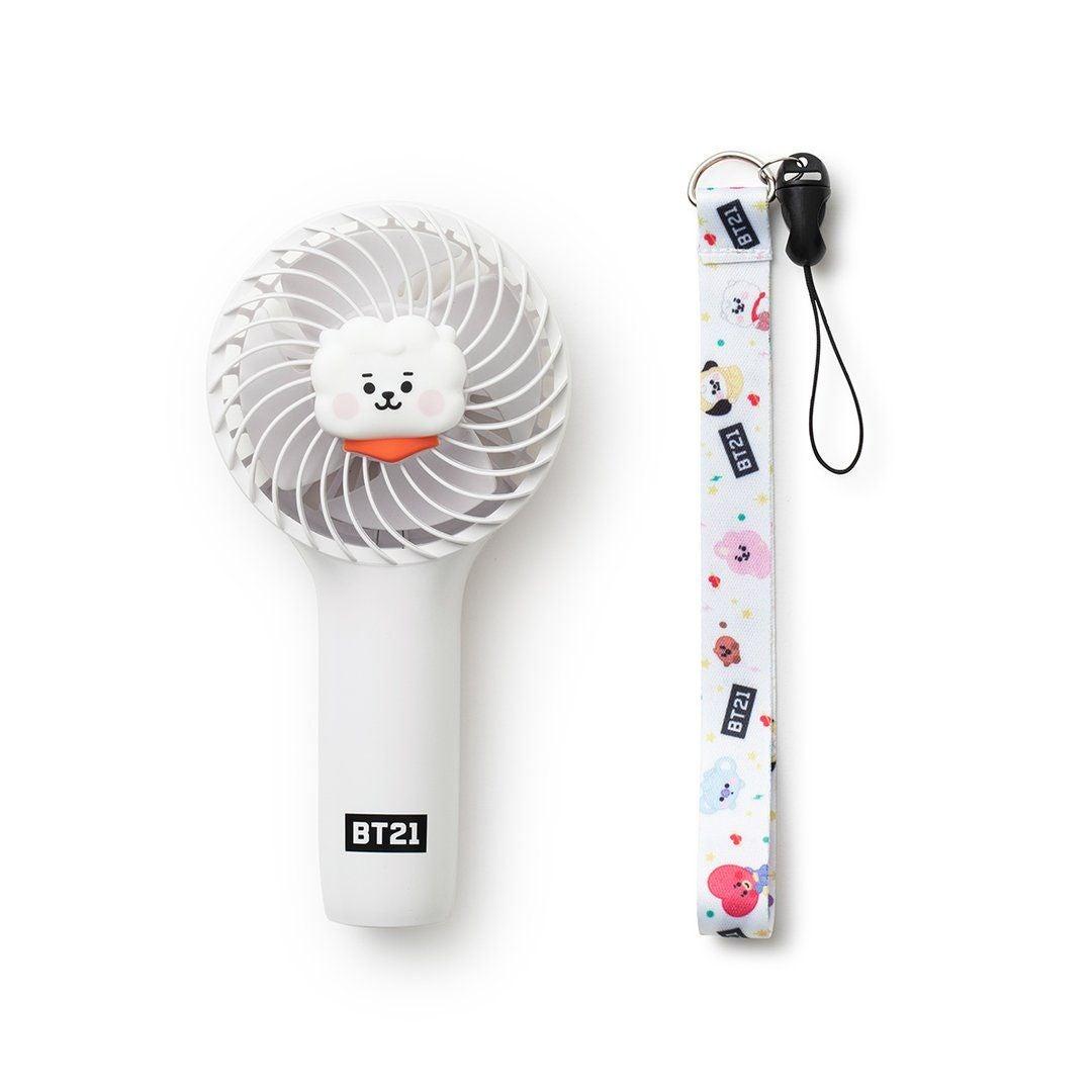 BTS BT21 Baby RJ Mini Handy Fan