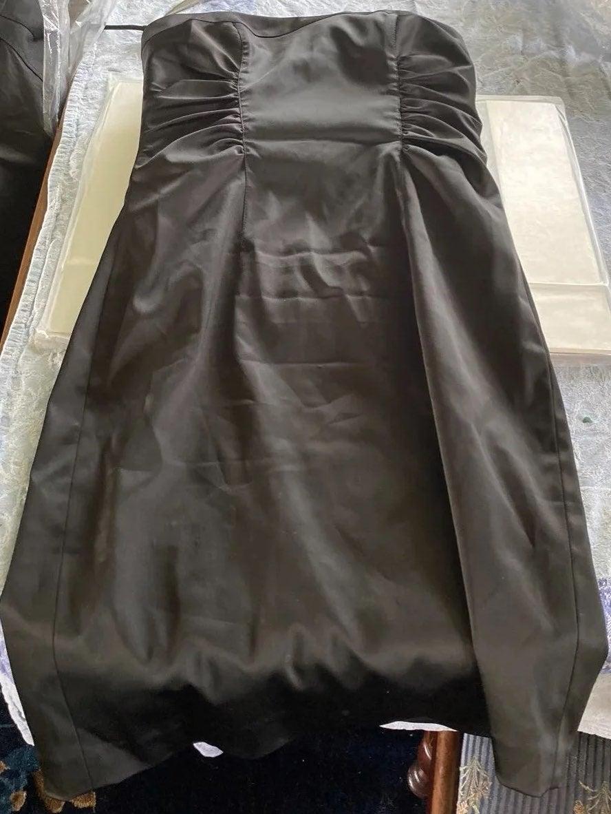 Vintage Kay Unger Size 6 strapless dress