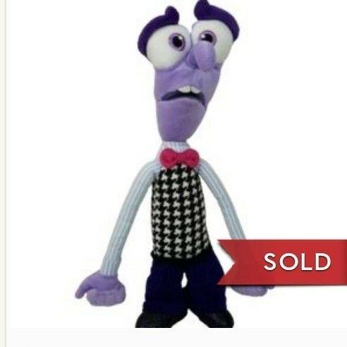 "Disney & Pixar fear plush inside out 12"""