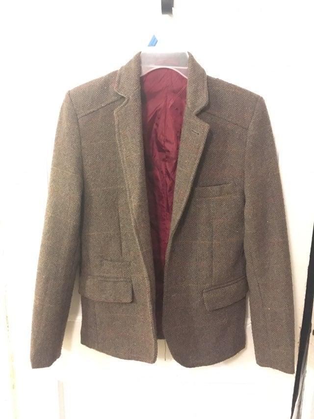 Ladies Bellfield Rosha Coat Navy New Size 10 Small