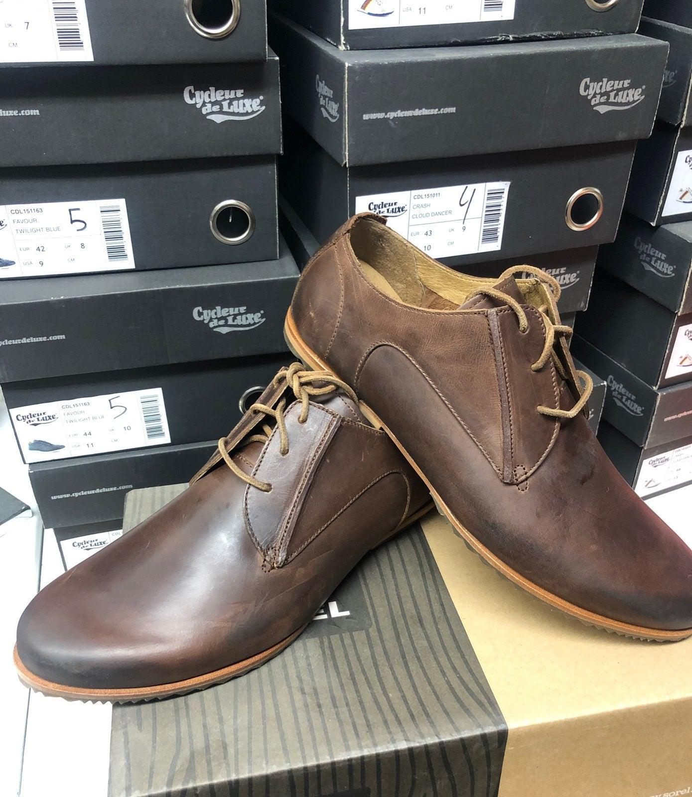 SOREL Shoes for men's brown flat shoe