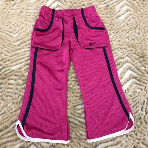 Nike Girls pink flare pants with pocket