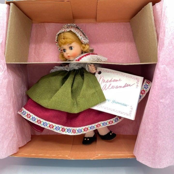 90's Madame Alexander Switzerland Doll