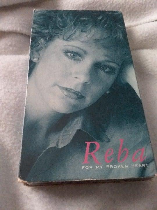 Reba: For My Broken Heart- VHS