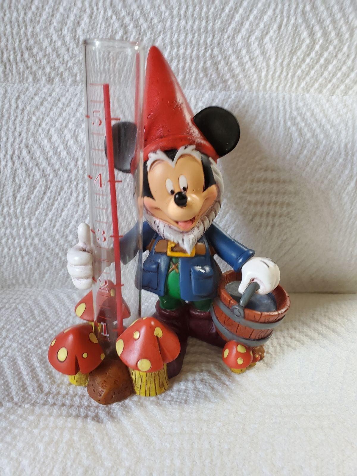 Disney Parks Mickey Gnome Rain Gauge