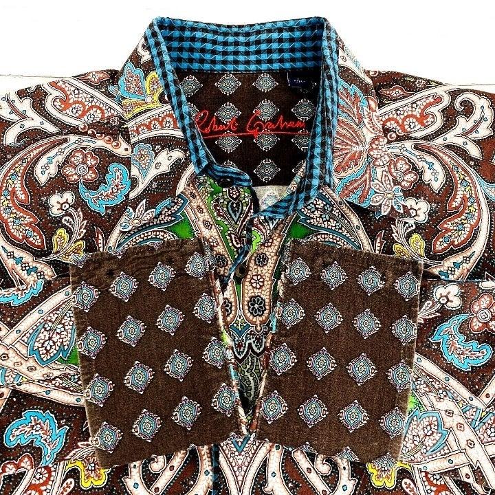 Robert Graham Men's L/S Shirt Paisley