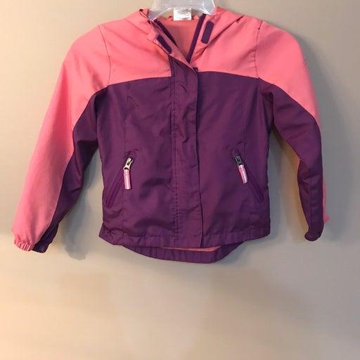 Girls Crane Medium Rain Jacket Pink Purp