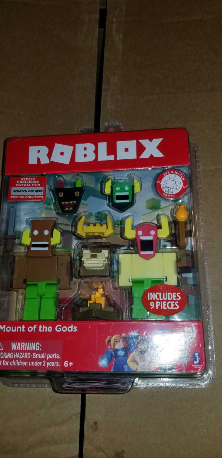 roblox toy Mount of the Gods brand new