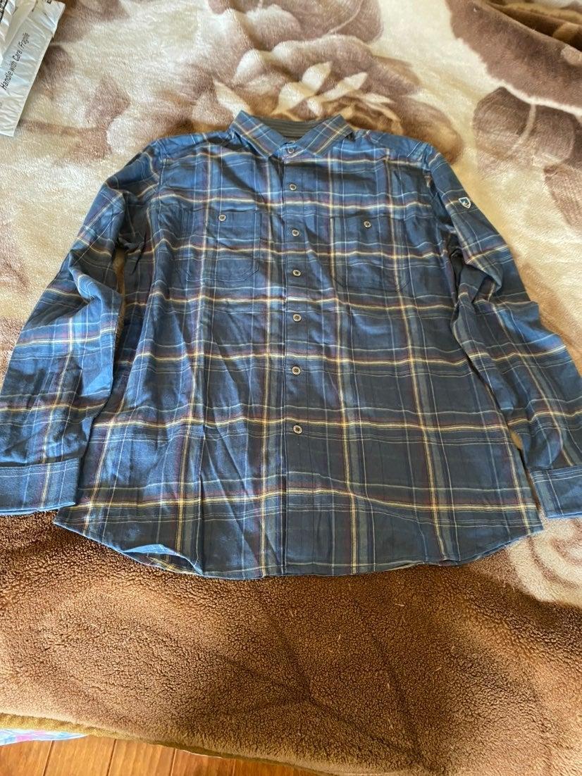 Fugitive Flannel  shirts by Kuhl for men